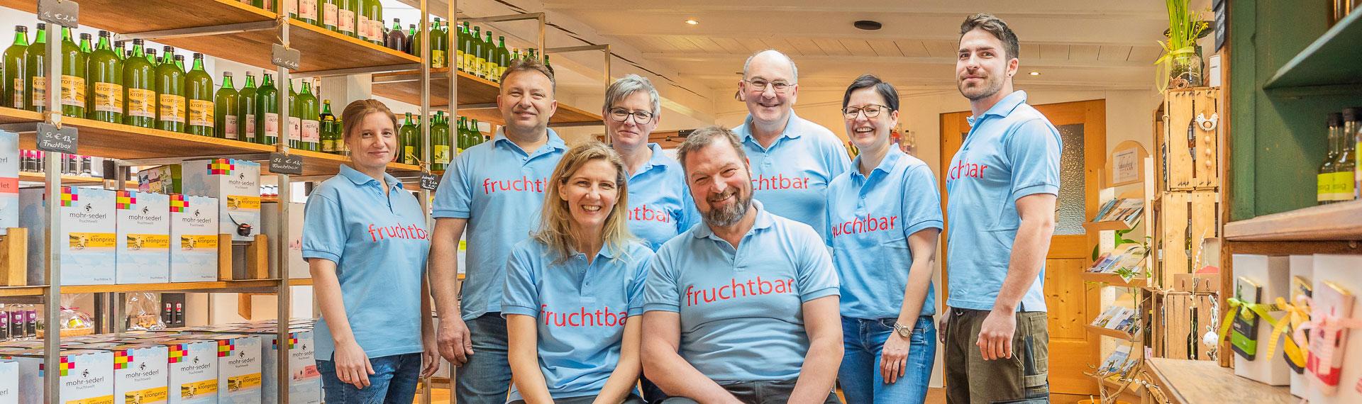 Mohr-Sederl Fruchtwelt |Team